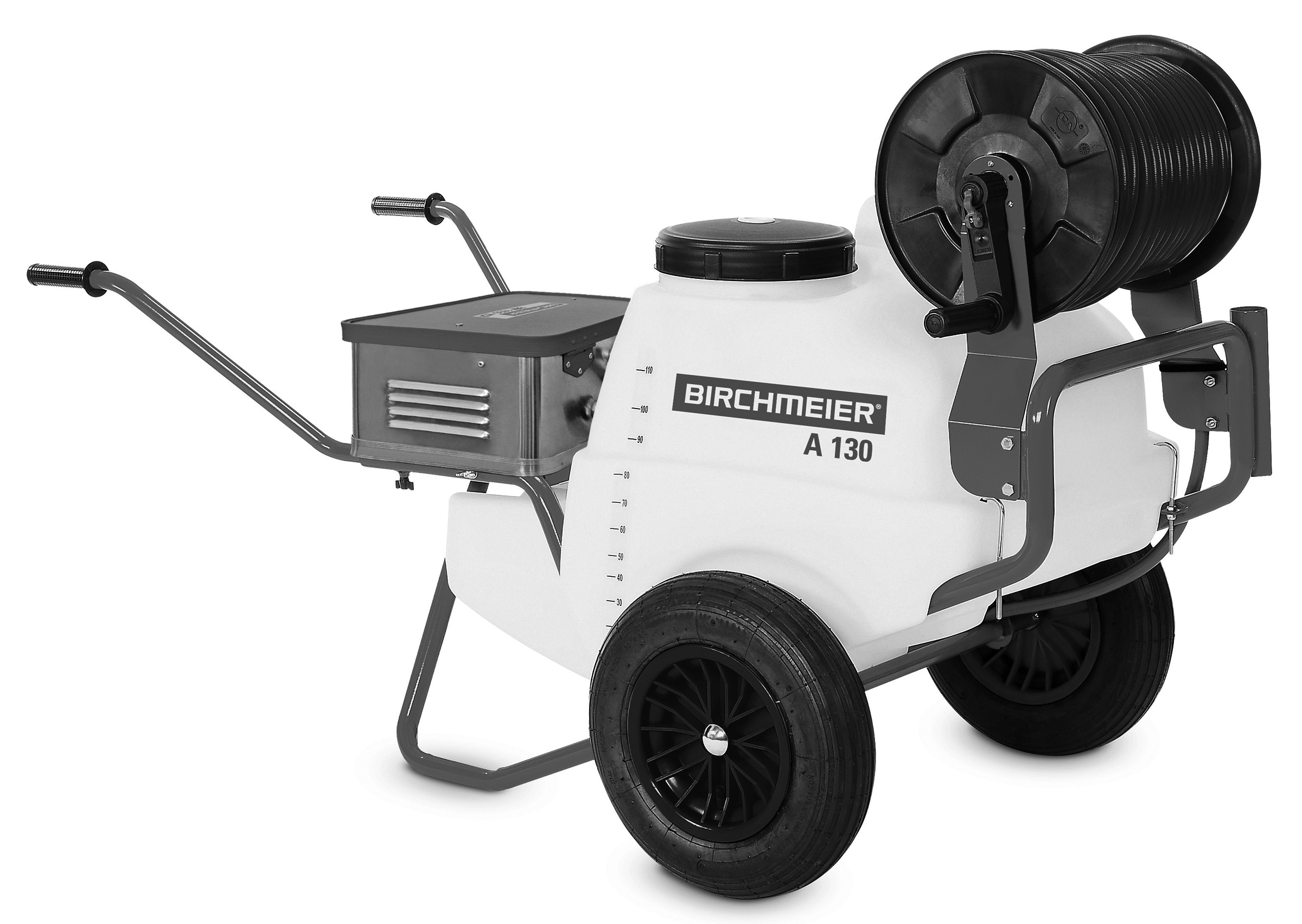 A 130 AZ1 battery wheelbarrow sprayer