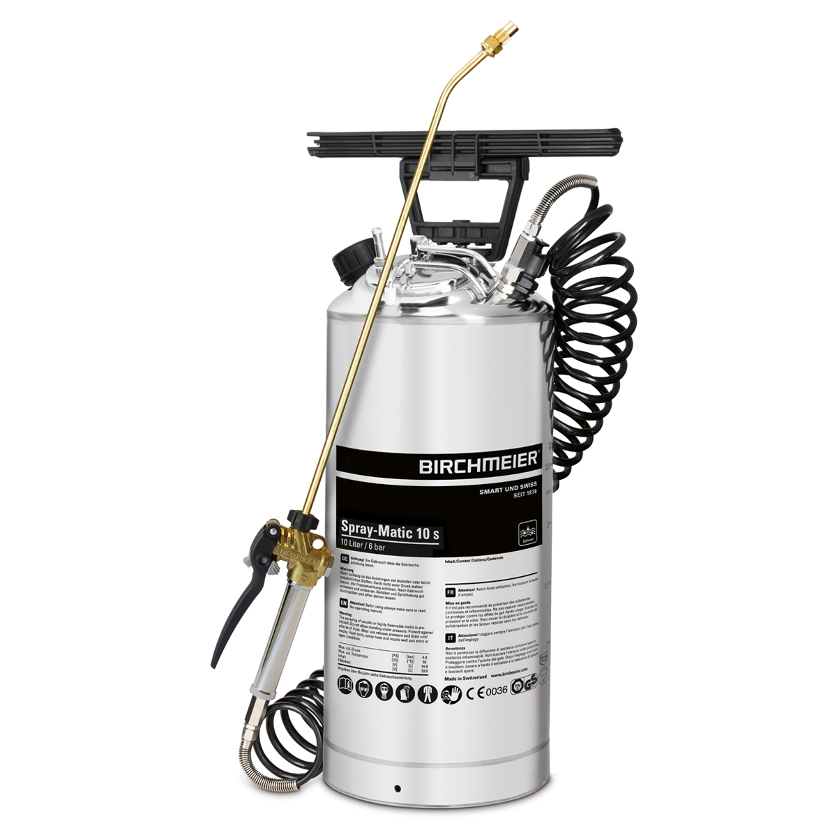 Spray-Matic 10 S avec raccord à air comprimé